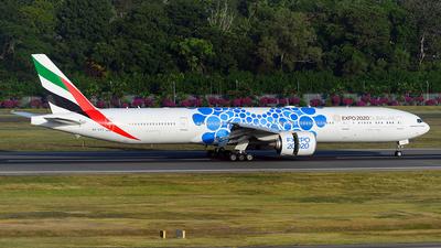 A6-ECC - Boeing 777-36NER - Emirates