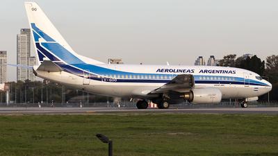 A picture of LVGOO - Boeing 7377BD - Aerolineas Argentinas - © Gabriel Gomez