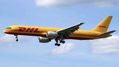 A picture of GBIKG - Boeing 757236(SF) - DHL - © Eddie Heisterkamp
