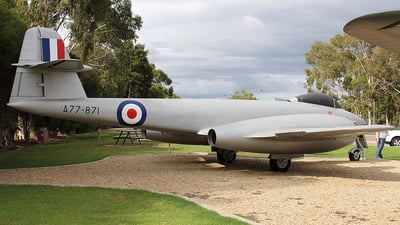 A77-871 - Gloster Meteor F.8 - Australia - Royal Australian Air Force (RAAF)