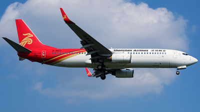 A picture of B5613 - Boeing 73787L - Shenzhen Airlines - © Predic. LXY!