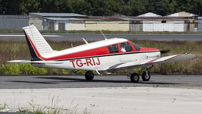 TG-RIJ - Piper PA-28-140 Cherokee - Private