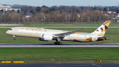 A picture of A6BLZ - Boeing 7879 Dreamliner - Etihad Airways - © Sebastian Thiel
