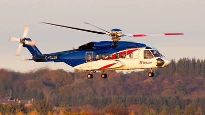 G-CLGF - Sikorsky S-92A Helibus - Bristow Helicopters