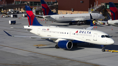 A picture of N117DU - Airbus A220100 - Delta Air Lines - © Michael Rodeback