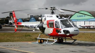 PR-SMW - Eurocopter AS 350B2 Ecureuil - Brazil - Government of Sao Paulo State