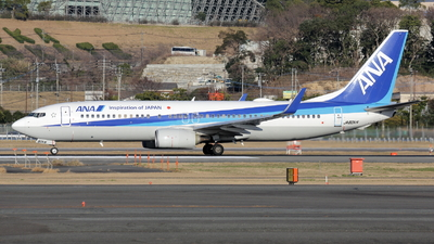 A picture of JA80AN - Boeing 737881 - All Nippon Airways - © Masao Ohmoto