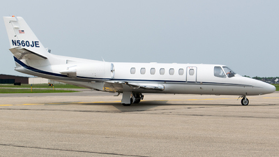 N560JE - Cessna 560 Citation V - Private