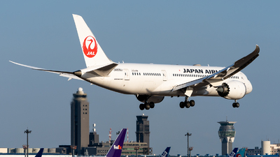 A picture of JA839J - Boeing 7878 Dreamliner - Japan Airlines - © JG_Taro