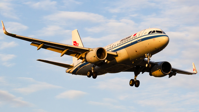 A picture of B6468 - Airbus A319115 - Air China - © zzy020213