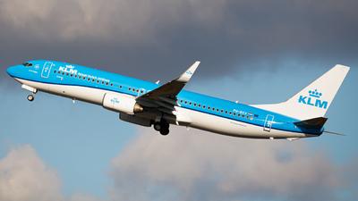 A picture of PHBXV - Boeing 7378K2 - KLM - © Kuba Kawczynski