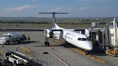 N202WQ - Bombardier Dash 8-Q402 - United Express (Republic Airlines)