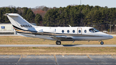 N418GJ - Raytheon Hawker 400XP - Private