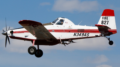 N349AS - Air Tractor AT-802A - Air Spray