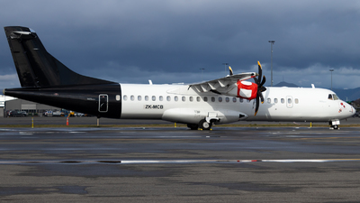 ZK-MCB - ATR 72-212A(500) - Air New Zealand
