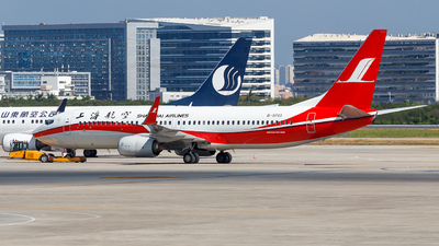 A picture of B5703 - Boeing 73789P - Shanghai Airlines - © Aaron_ZSAM