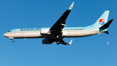 A picture of HL8249 - Boeing 7379B5(ER) - Korean Air - © park gun min
