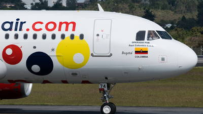 HK-5274-X - Airbus A320-214 - Viva Air Colombia