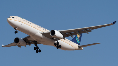 A picture of HZAQB - Airbus A330343 - Saudia - © AirlinerSpotter