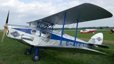 A picture of GACEJ - De Havilland DH83 Fox Moth - [4069] - © Mirko Bleuer