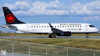 A picture of CFEJC - Embraer E175SU - Air Canada - © WorldTraveler225