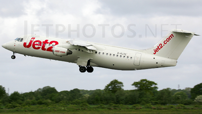 G-FLTC - British Aerospace BAe 146-300 - Jet2.com (Flightline)