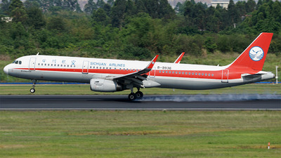 B-9936 - Airbus A321-231 - Sichuan Airlines