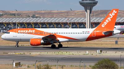 A picture of HBJXD - Airbus A320214 - easyJet - © Enrique Rubira