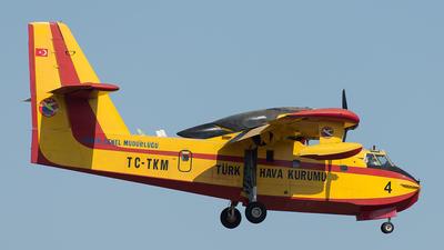 TC-TKM - Canadair CL-215 - Turkey - Turkish Aeronautical Association