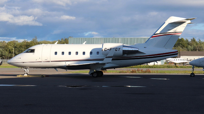 A picture of CFKGY - Bombardier Challenger 604 - [5419] - © Guy Langlois