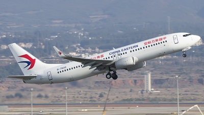 A picture of B7600 - Boeing 73789P - China Eastern Airlines - © heitanyang