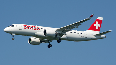 HB-JCO - Bombardier CSeries CS300 - Swiss