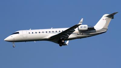 OE-ISA - Bombardier CL-600-2B19 Challenger 850 - Avcon Jet