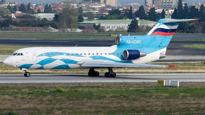 RA-42365 - Yakovlev Yak-42D - Grozny-Avia