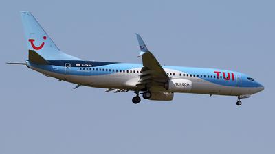 A picture of GTAWW - Boeing 7378K5 - TUI fly - © Nigel Fenwick