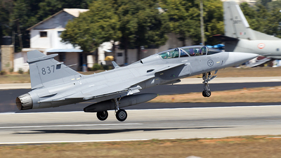 39837 - Saab JAS-39D Gripen - Sweden - Air Force