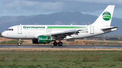 D-ASTJ - Airbus A319-111 - Germania