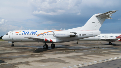 A picture of 5BDDB - Fokker 70 - [11561] - © Adrian Painvin