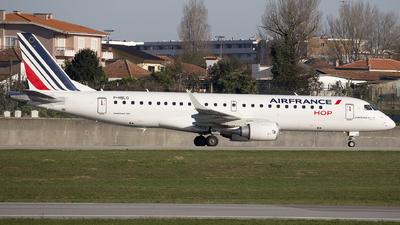 A picture of FHBLO - Embraer E190STD - Air France - © José Ferraz