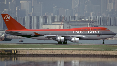 N662US - Boeing 747-451 - Northwest Airlines