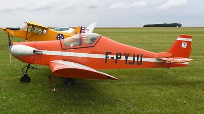 F-PYJU - Pottier P-80S - Private
