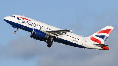 A picture of GEUPM - Airbus A319131 - British Airways - © Milanlhr