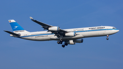 9K-AND - Airbus A340-313 - Kuwait Airways