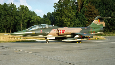 FC01 - Lockheed TF-104G Starfighter - Belgium - Air Force