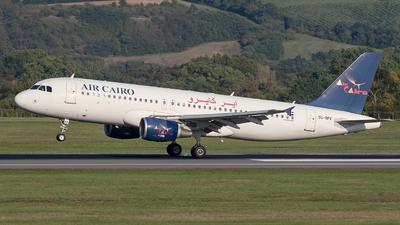 SU-BPX - Airbus A320-214 - Air Cairo