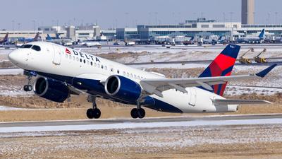 A picture of N135DQ - Airbus A220100 - Delta Air Lines - © HA-KLS