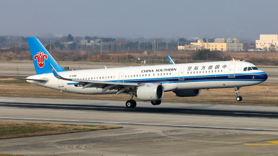 A picture of B1088 - Airbus A321271N - China Southern Airlines - © Jiaming