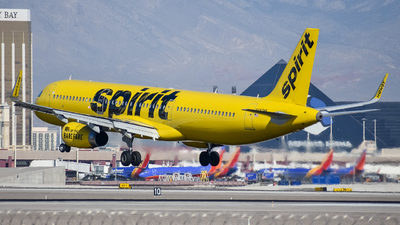 N683NK - Airbus A321-231 - Spirit Airlines