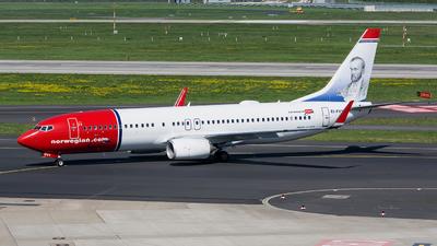 EI-FVY - Boeing 737-8JP - Norwegian