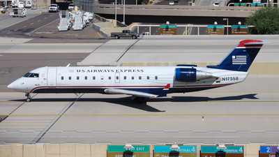 N17358 - Bombardier CRJ-200LR - US Airways Express (Mesa Airlines)